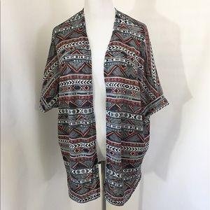 Torrid Open Front Lightweight Kimono Sz 1